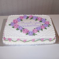 Volunteer Appreciation Cake