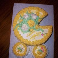Baby Stroller This cake is a big hit with people........it's easy to make and is cute