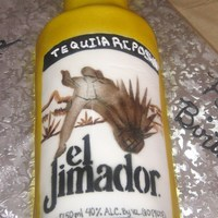 El Jimador Tequila Bottle