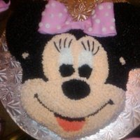 Minnie Mouse For A 2nd Birthday Party
