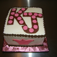 Karla's Smash Cake Butter cream with MMF details.