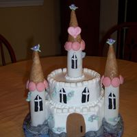 Princess Castle My first princess castle! After looking at everyones castles, I couldn't wait to do one! I was so glad I got an order! This design was...