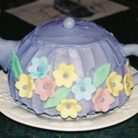 Teapot Cake I made this for my mother-in-law who loves her tea. The download show the cake as much more squat that it was in real life. I was rushed...