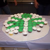 Special Olympics Symbol With Cupcakes The only picture I could get, after they already ate some of the cupcakes!