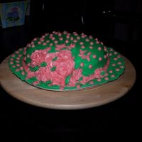Easter Bonnet Cake My first hat cake! Cinnamon swirl..yummy