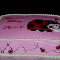 Ladybug Lady Bug Cake. Inspiration cake for the B-day invite.