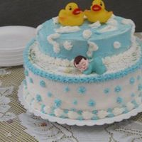 Baby Shower Butter cream icing