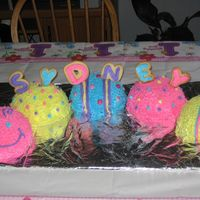 Caterpillar Cake I had recalled seeing this cake on the Wilton site and thought I would give it a try. I made this cake in January but I wish I would have...