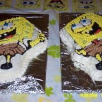 Sponge Bob For my nephew's birthday party I made two Sponge Bob cakes since there were so many people! Not to mention this was my very first...