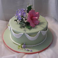 Gumpaste Flowers Class With Jennifer Dontz Kansas City, Mo Sept 2009 This is the cake dummy and flowers that I meade at a class by the amazing Jennifer Dontz this month. We made every single flower and leaf...