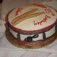 "Drum To The Beat Of Chocolate This cake is a 10in triple layer chocolate dream. It is white chocolate BC with chocolate candy clay decorations. I was inspired by ""..."