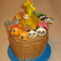 Noah's Ark Birthday Made for a little boy who of coarse turned 2. This was a lot of fun. Got lots of great ideas from CCs