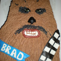 Chewbacca Birthday Cake   Chewbacca...really hard to get it to look like the real thing....