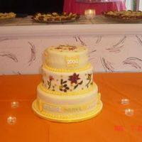 Tripe Gradation Party Graduation cake for 3 people
