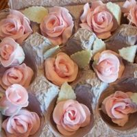 Fondant Roses  This is the first time I attempted to make fondant roses! I think they turned out wonderful! I cannot wait to learn to make a variety of...