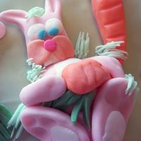 Easter Cake   My children and I made a carrot cake and had a gre