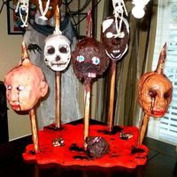 Severed Heads Halloween Cake