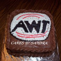 Awt Chocolate Cake This was a cake a made in a hurry for my husband's office.