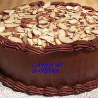 Devils Food With Almond Topping This is a devils food cake with chocolate pudding filling. Icing is cbci with almond flavoring. I wanted to taste it so bad-so I used the...