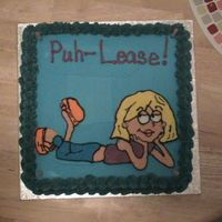 Lizzie MY DAUGHTERS TENTH BIRTHDAY CAKE