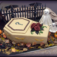 The Murder At Anonville Manor (Murder Mystery Party Cake)