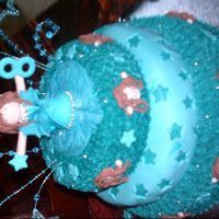 Extravaganza This was a extravaganza party for one of my friends girl's 8th birthday with a turqoise color scheme