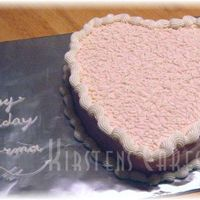 Heart With Sotas My first time trying sotas. Cake is lemon torted into three layers with strawberry preserves and cream cheese icing. The sotas were easy,...