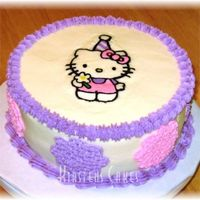 Hello Kitty Fbct This was my first FBCT for my daughter's birthday. The cake was a bit rushed, but I liked the transfer. I learned a lot doing it and...
