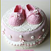 Baby Boots Cakes