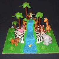 Diego For Gabriel  Thanks to the many decorators that have done jungle or safari cakes. My grandson asked for a lion cake. While my daughter was searching the...