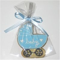 Baby Carriage Cookie Baby carriage cookies for a baby shower