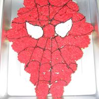 Spiderman Ccc I also did this for my soins 7th b'day. It is a Spiderman cupcake cake. I did it with the mini muffins.