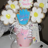 Cookie Bouquet I did this one for my neice's end of the year gift.