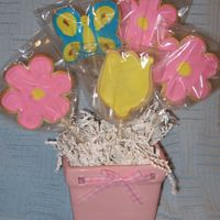 Mother's Day Cookies My first cookie bouquet and first cookies ever like this. They are so much fun to make.