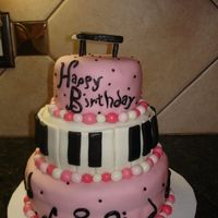 Piano Cake   Made for my grandma's 89th birthday. She can still play the piano and organ like a madwoman!