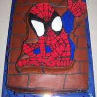 Spiderman This was for my nephew's Spiderman birthday party.