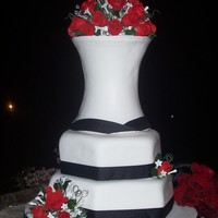 Cousin's Wedding Cake. My Grandmother (Superstar) and I had the honor of making my cousin's wedding cake. I sat down ,drew a sketched once we had an idea of...