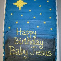 Happy Birthday Jesus This was not supposed to be the cake. I had to improvise last minute and make this instead. My Aunt wanted a Happy Birthday Jesus cake, and...