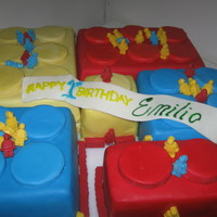 Lego Cake   giant lego cake plus chocolate lego men