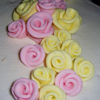 Duff's Roses This is the first time I've done these roses. They were so simple but look great! I will never do icing roses again (not that I could...
