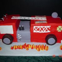 Fire Truck Birthday I have to thank everyone on CC who posted a picture of their firetruck cake. Everyone of the cakes were inspiration for this one. Carved...