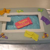 Labor Day Pool Cake