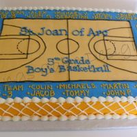Sja Basketball All Buttercream!