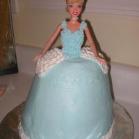 Doll / Cinderella - 5Th Birthday My first attempt at a doll cake. My daughter came downstairs on her 5th birthday and announced she wanted a Cinderella cake. I baked the...