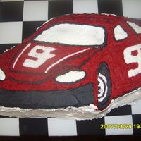 Kasey Khane Cake This is my first cake EVER... I made it for my boyfriends son''s 6th NASCAR themed birthday party. French Vanilla Cake with B/C...