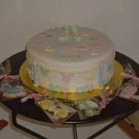 Cape Baby Shower This cake was inspired by the many baby clothes line cakes I have seen on this site. So thank you to all the members who have done one and...
