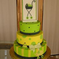 Baby Stroller Buttercream and fondant