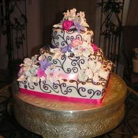 Wedding Cake Round And Square