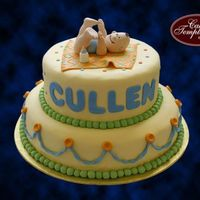 Cullen fondant cake, all edible...