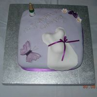 Baby Shower This was a cake for my best friends baby shower.